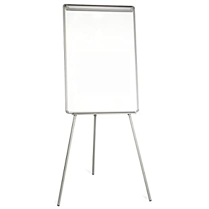 Image of Arts & Crafts Supplies Bi-Office Tripod Easel Easy, Magnetic, Slim Alunimium Frame, A1