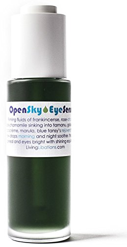 Living Libations – Organic Wildcrafted Open Sky Eye Serum 1 oz 30 ml