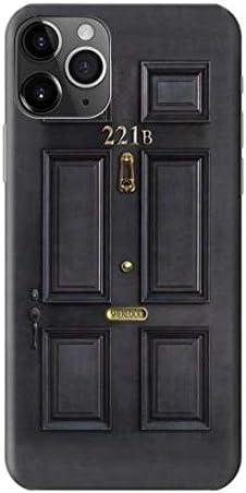Innovedesire Detective Holmes Black Door 221B Funda Carcasa Case para iPhone 11 Pro