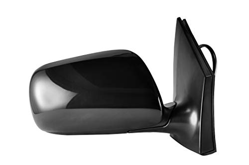 (Passenger Side Power Operated, Non-Heated, Unpainted Side View Mirror for 2009-2013 Toyota Corolla - Parts Link #: TO1321249)