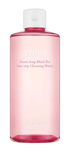 Atrue Sweet Song Black Tea One-Step Cleansing Water, Low Ph. With Compagnie Coloniale Black Tea Blending Formula, 300 mL/10.14 oz.