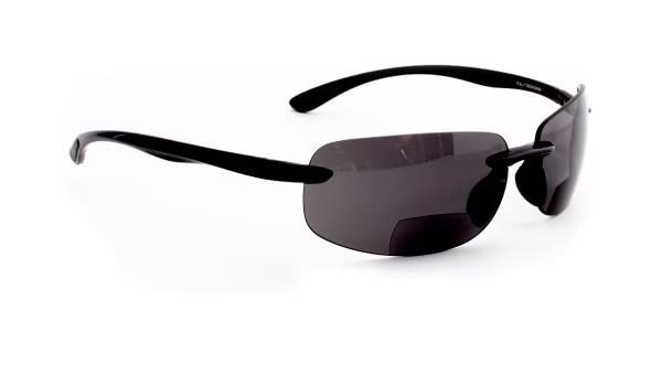 04f7b30585 Amazon.com  Maui Island Style Polarized Bifocal Sunglasses with  Polycarbonate Lens for Men and Women +150