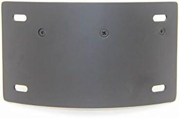 B01C0SROP8 Curved Side License Plate Tag Holder Bracket Compatible with Honda Cbr 600Rr 1000Rr Black HONGK
