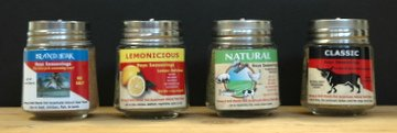 Three & Half 4 Shaker Gift Set - Three Salt Free & One Low Salt Seasonings