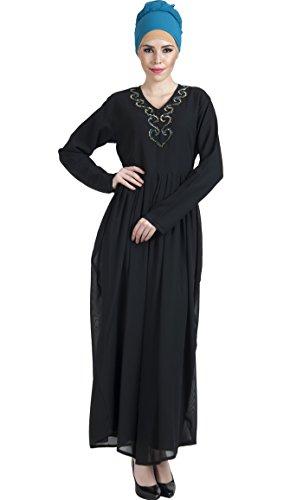 Damen Essence Blau Durchgehend Turquoise Kleid East Matt 5OwxpHFqHP
