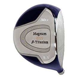 "AGXGOLF; ""Magnum"" 8.5 Degree Titanium Driver: Free Head Cover; Mens Right Hand Cadet, Regular or Tall Length"