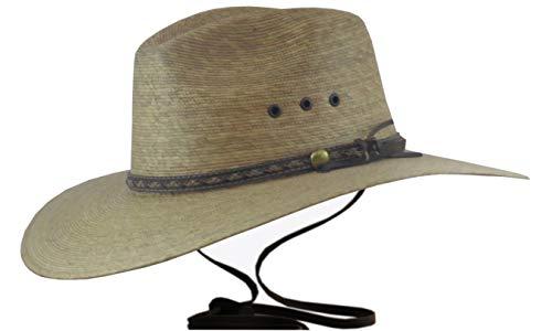 BULL-SKULL HATS, Palm Leaf Cowboy HAT, Pinch -