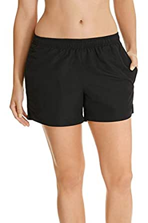 Champion Women's Clothing Infinity Microfibre Short, Black, 10