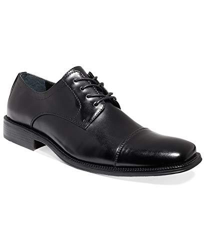 Alfani Men's Adam Cap Toe Oxford Black (Shoes Mens Alfani)