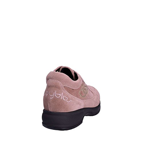 Scarpa Blu Rosa Byblos Lacci 677001 Donna Rf7pE