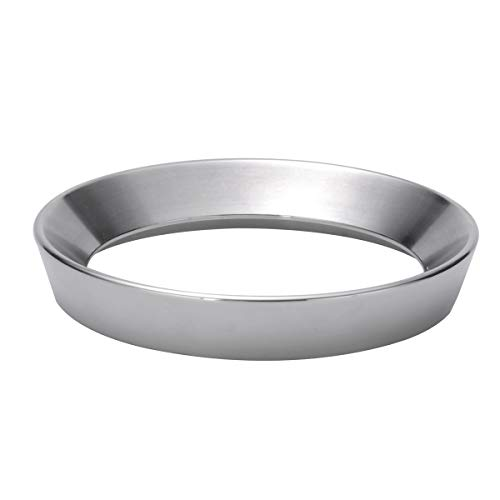 - Espresso Dosing Funnel, Stainless Steel Dosing Ring (58mm)