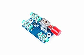 Audio Switching Board audio input 3.5mm A B Group input Switch Select output