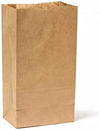 DIFA Pack - 100 Bolsas de Papel Kraft. Bolsas sin asas. Bolsas de papel regalo, bodas, cumpleaños, niños, navidad. Bolsitas para regalos (100 x bolsas ...