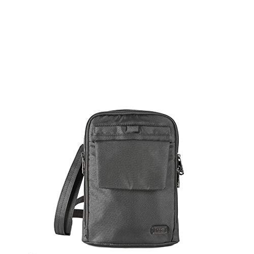 Lug Women's Pitter Patter, Shimmer Gunmetal Cross Body Bag, One Size