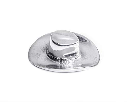 Soap Cowboy Dish (Arthur Court Western Cowboy Hat Bottle Opener Aluminum/Stainless Steel 3