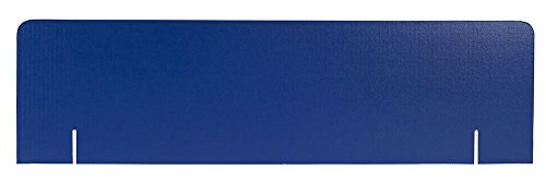 36 x 10 Blue Corrugated Header, Pack of 16 (Corrugated Displays Stock)