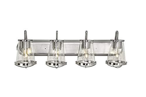 Designers Fountain 87004-SP Darby 4 Light Bath Bar