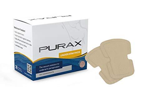 PURAX Underarm Pads - Sweat Shields 30pcs brown
