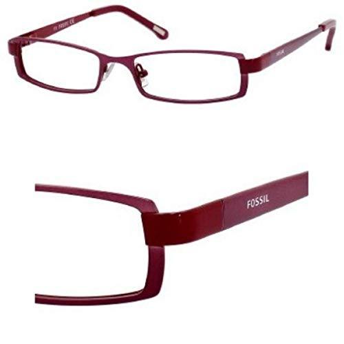 Bordeaux Red Frame - Fossil BRIANNA Eyeglasses (023B) Bordeaux, 53 mm