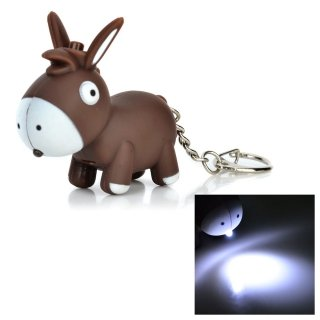 Flying colourz Cute dibujos animados burro estilo 1-LED luz ...