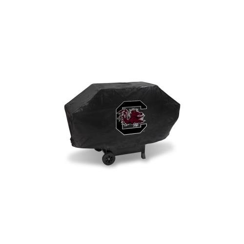 South Carolina Gamecocks Grill Cover - Rico NCAA South Carolina Gamecocks Vinyl Padded Deluxe Grill Cover