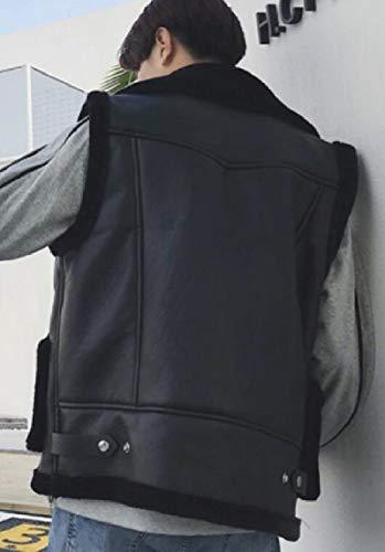 Giacca Addensare Sicurezza Basso Trapuntato Maniche Coat Il Della Gilet Verso 1 Leggera Pile Foderato Uomini In SxxaqHwp