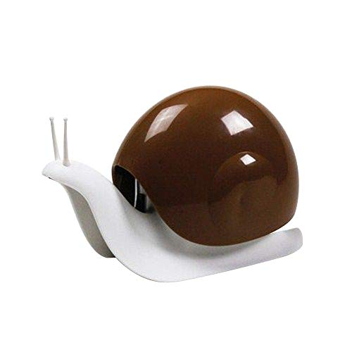 Hot Sale!DEESEE(TM)Cartoon Snail Push-type Dispensers Liquid Disinfectant for hands Lotion Bottle (Coffee) ()