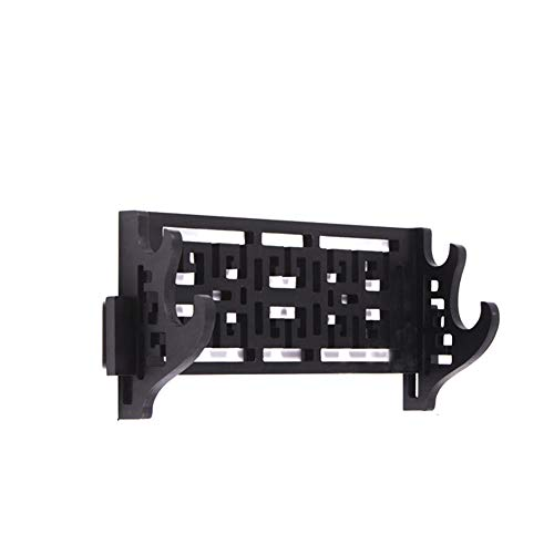 Fcloud 2 Tier Sword Stand Wall Mount Samurai Sword Holder Display Stand Katana Wakizashi Tanto Wall Hanger Sword Rack ()