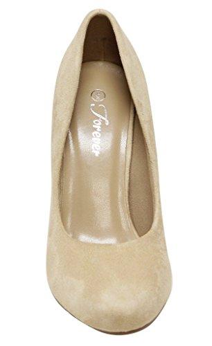 Pour Toujours Azusa-54 Slip Bout Rond Féminin Sur Talon Haut Pompes Chaussures Bg 6