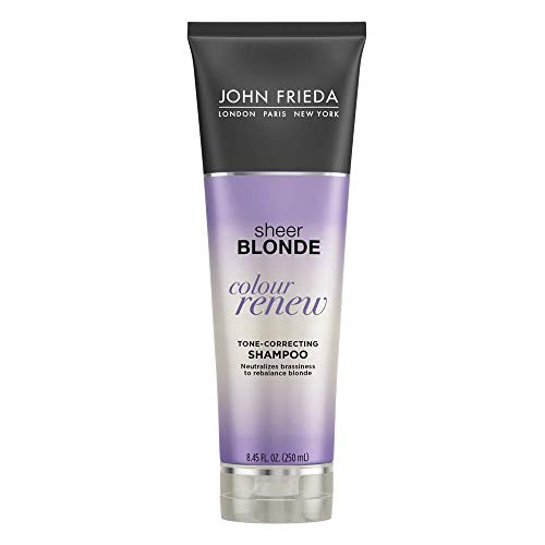 John Frieda Sheer Blonde Colour Renew Purple Shampoo, 8.45 Ounces (Pack of 2)
