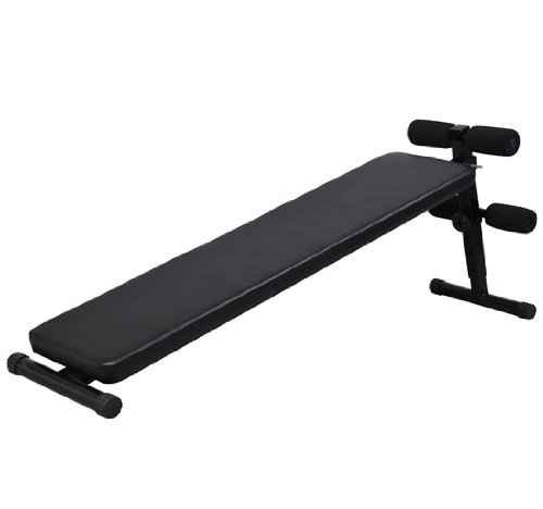 Soozier-Deluxe-Portable-Ab-Decline-Sit-Up-Bench-Black