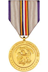 Medals of America Cold War Commemorative Medal Anodized