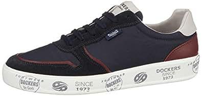 Dockers Erkek Bağcıklı Ayakkabı, Mavi, 41