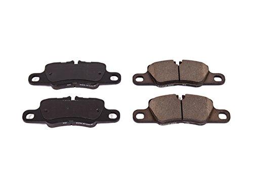 Power Stop Z23-1417, Z23 Evolution Sport Carbon-Fiber Ceramic Rear Brake Pads