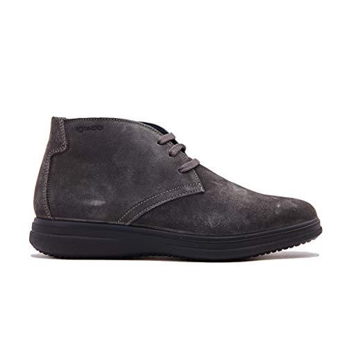 Collo Scuro Sneaker Grigio Uomo Alto amp;CO IGI Utu 222 a Grigio zI77q1
