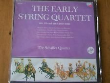 The Early String Quartet / Schaffer Quartet [Vinyl] …