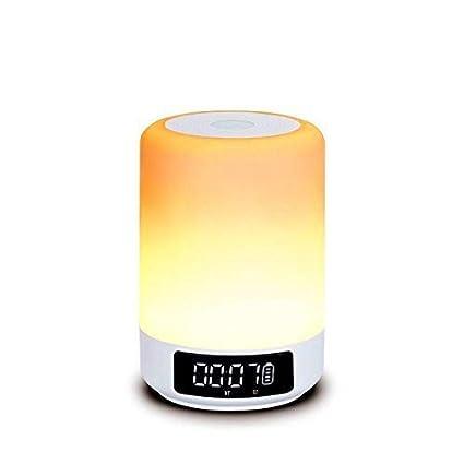 Amazon.com: Altavoz Bluetooth lámpara, imbeang lámpara de ...