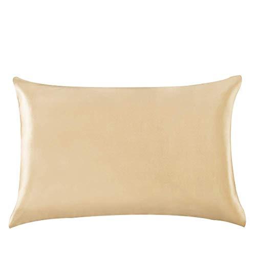 Amazon Com Yanibest Silk Satin Pillowcase For Hair And