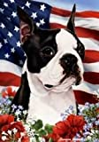 Boston Terrier Patriotic Flag: 28 x 40 Inches Review