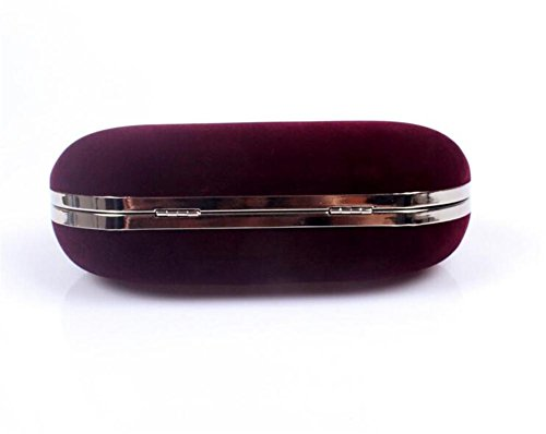 Handbag Wedding Clutch Bags Dress Women Shoulder Velvet Evening Party NVBAO red wine 15twW8xXqx