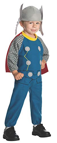 Rubie's Baby Marvel Classics Avengers Assemble Fleece Toddler Thor Costume]()
