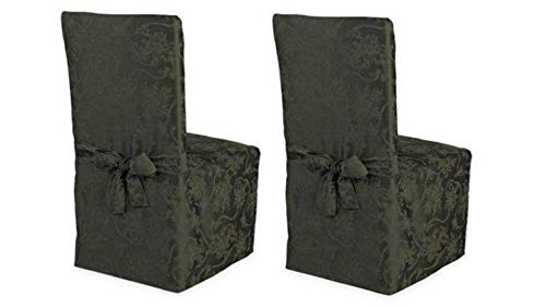 Room Dining Set Bed (Holiday Joy Dining Room Chair Cover, Set of 2, Green)
