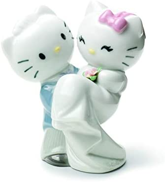 NAO Hello Kitty Gets Married . Porcelain Hello Kitty Figure.
