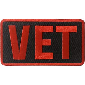 (C&D Visionary P-DSX-4759 DSX Military Vet Patch Multi Color )