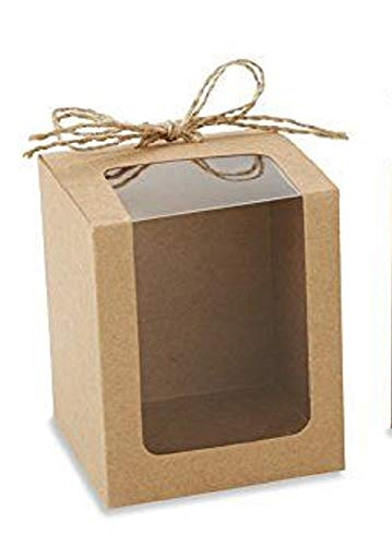 Kraft Gift Box for 9 Stemless Wine Glass (Set of 10)
