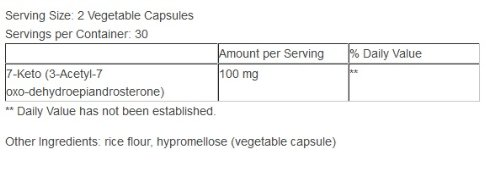 7-Keto, 100 mg