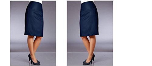 M, i.m. Centro de rock, Rock, Pencil Skirt, Gr, 48, azul marino, 637851