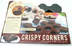 Batchworks: Crispy Corners Brownie Pan
