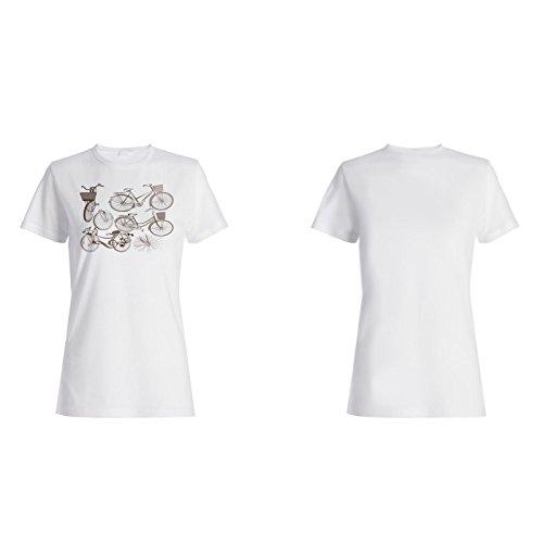 Fahrrad-Set Sport-Kit Neuheit Lustig Damen T-shirt a840f