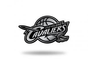 Rico Industries NBA Cleveland Cavaliers Chrome Finished Auto Emblem 3D Sticker
